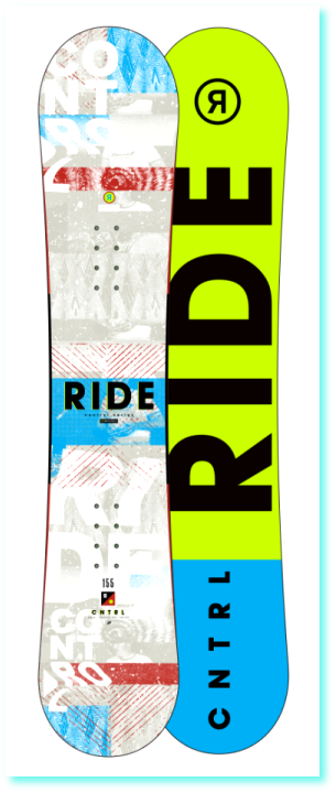 Snowboard RIDE CONTROL 160 - 16 Wide
