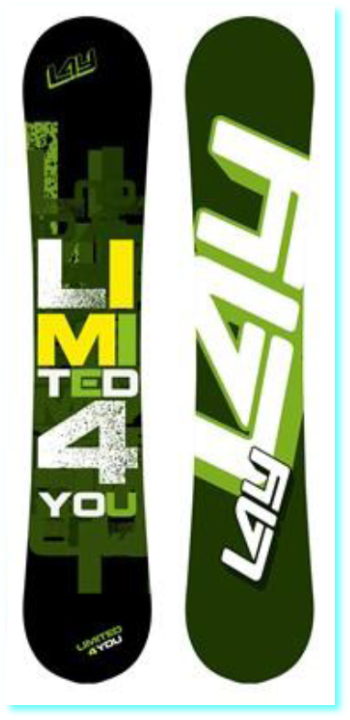 Snowboard LIMITED 4 YOU - ICON 125