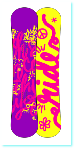 Snowboard RIDE BLUSH 120