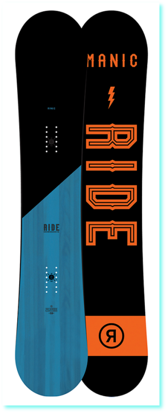 Snowboard RIDE MANIC 160 Wide 17
