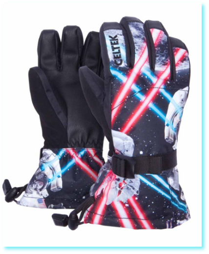 Rukavice CELTEK - MINI SHRED GLOVE Pet Wars