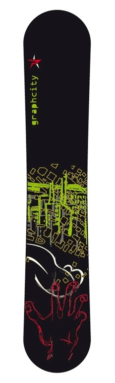 Snowboard FACTORY - GRAPHCITY 150
